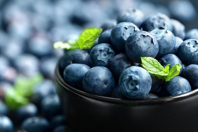 Blueberries are one example of foods that have powerful medicinal properties.