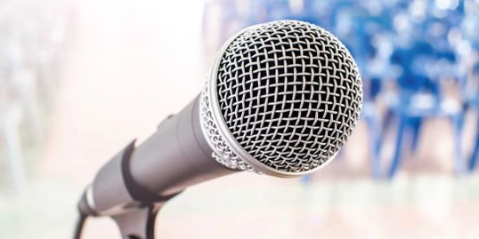 Microphone for Speaking Engagements