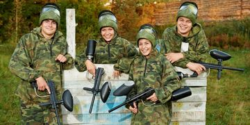 paintballing experience