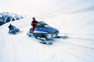 guided snowmobile tours, mammoth lakes snowmobiling
