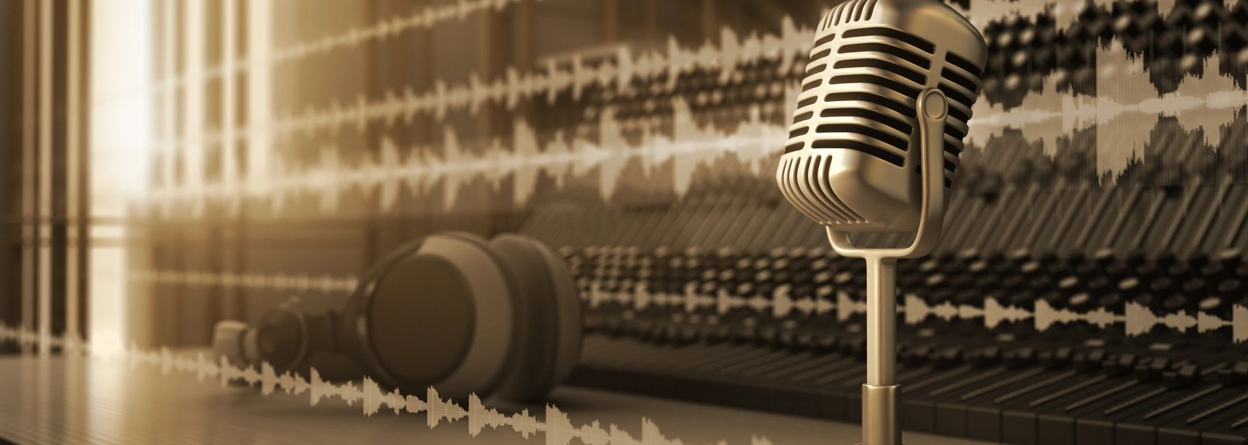 professional audio recording for oral history projects.