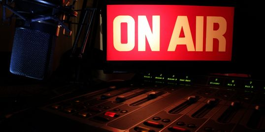 "We are ""On-Air"" mainly Saturdays @ 5:30 pm. as well as select Fridays @ 3 pm."