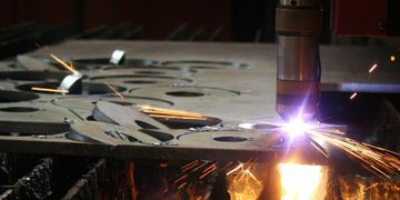 Heavy Metal Plate Fabrication