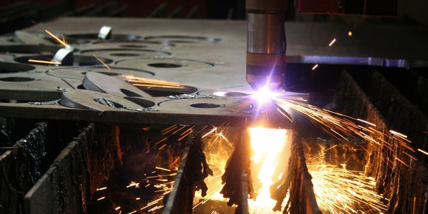 high definition mixed gas cnc plasma laser cutting heavy thick steel iron