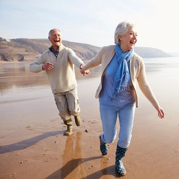 image of couple enjoying retirement