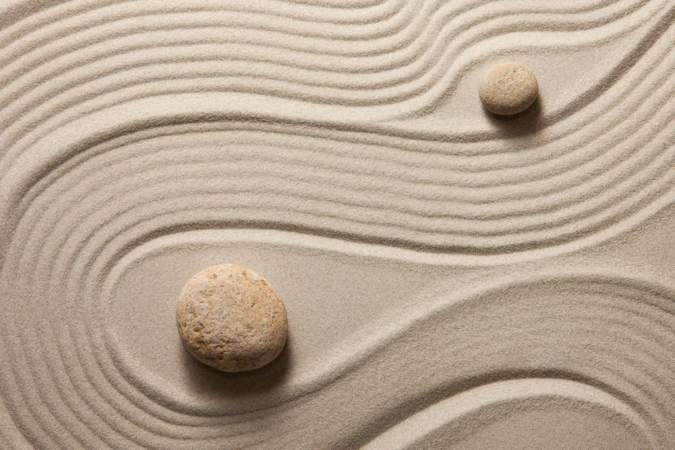 Harmony Sand Yin Yang FASD Balance Connection Balance