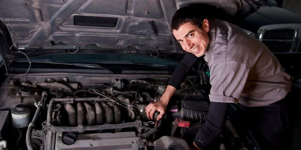 Happy mobile mechanic