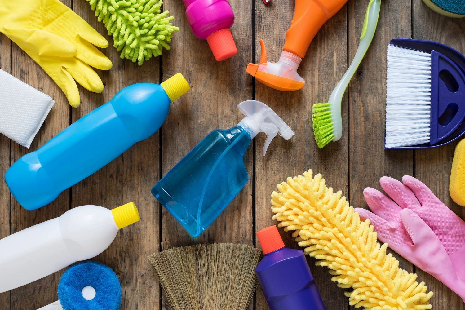 Cleaning products for home & business that are biodegradable