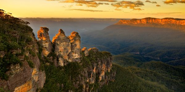Die Three Sisters im Blue Mountain Nationalpark bei Sydney