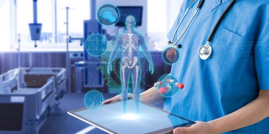 healthcare hospital augmented reality virtual reality internet of things IOT