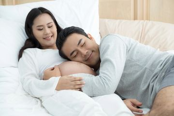 Acupuncture for pregnancy headaches, low back pain, swollen legs, insomnia, digestive discomforts