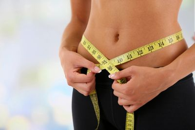 How check for abdominal weight loss