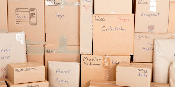 Moving Boxes, Storage Units, Storage Space