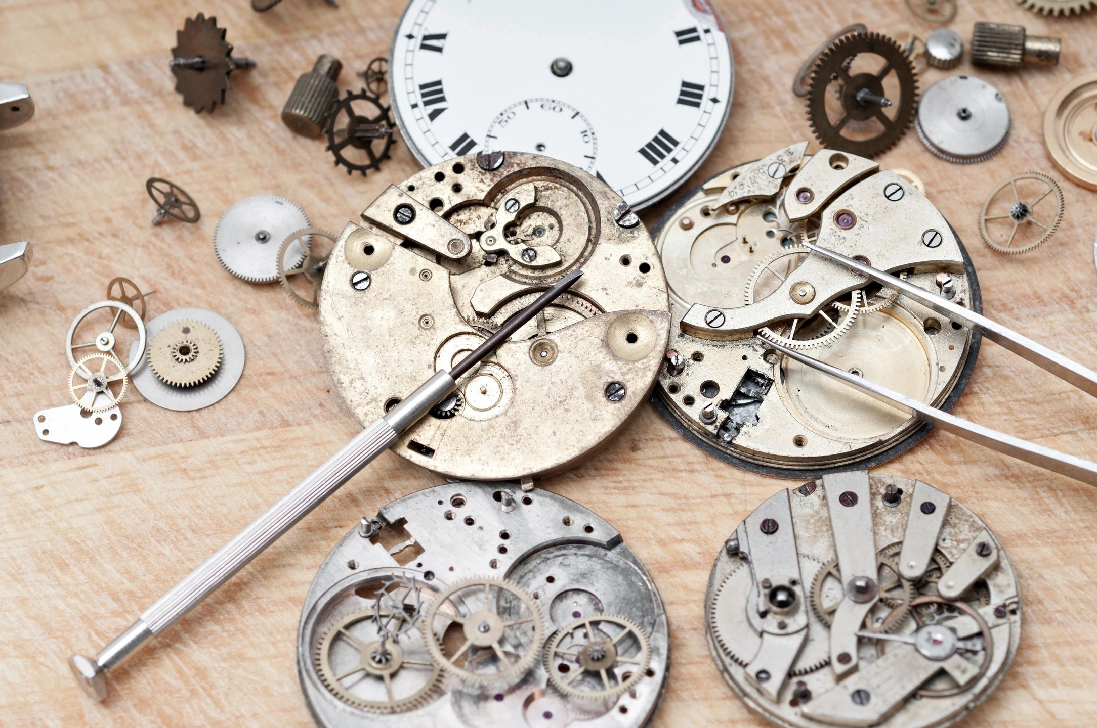 watch parts and watch repair tools