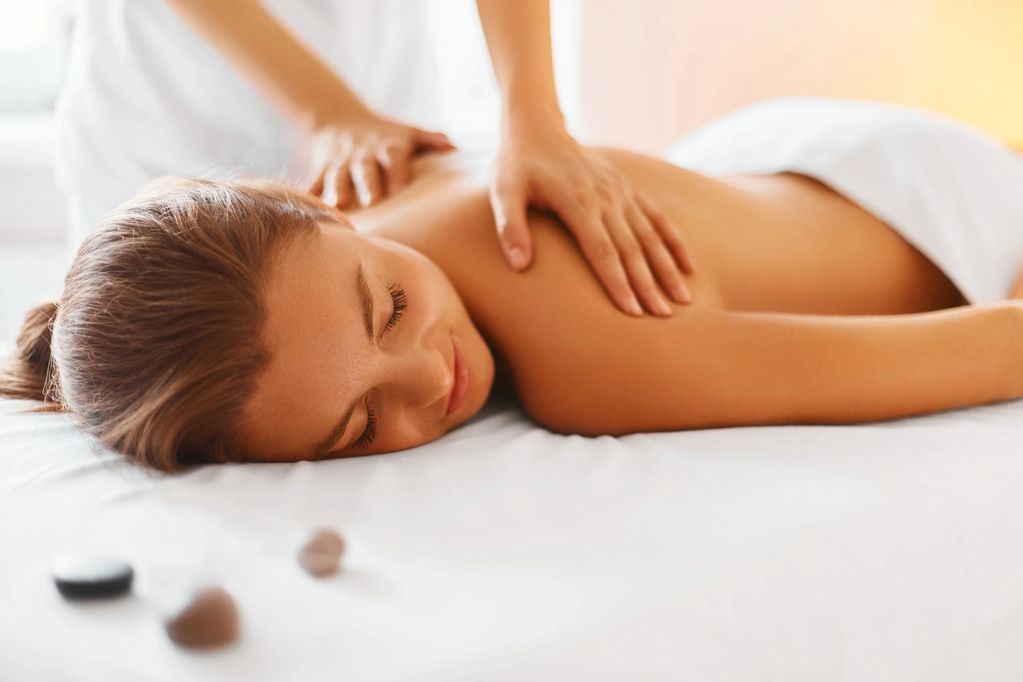 Massage therapist Jamie Morreau