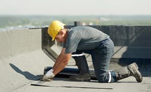 commercial hail damage roof repair in Denver Colorado.