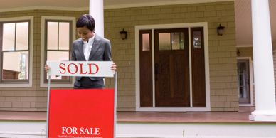 home sold real estate agent