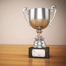 Metal Loving Cup Award