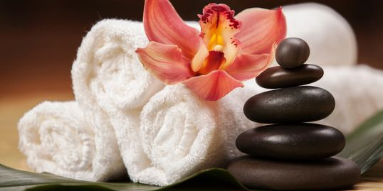 Hot Stone Massage. Spa services. Foot Scrub. Face Mask. Massage Thornton