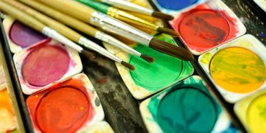 Watercolour paints, drawing and painting class in Edinburgh