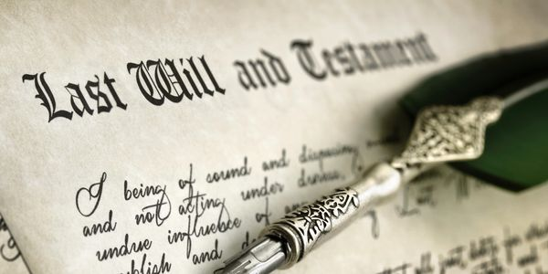 Last Will and Testament, Will, Probate