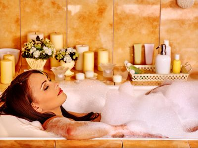 You too can enjoy a relaxing bath with our line of natural body products!