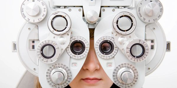state of the art eye exam equipment