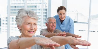 In-home physical therapy homecare concierge physical therapy ergonomics fall prevention