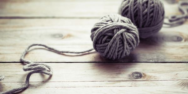 Handcrafted knitting company.