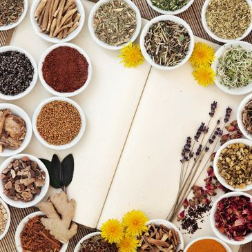 Anti inflammatory herbs for health weightloss and wellbeing