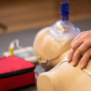 Manikins AEDs,  CPR or Firs Aid training, but also for rescue situations and emergencies