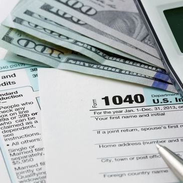 Tax preparation No up front fees