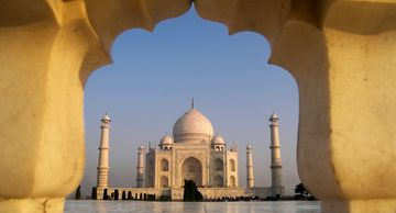 Taj Mahal Agra India, an unforgettable sightseeing option offered by Spice Travel
