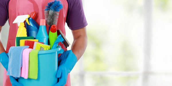 Cleaning Tools and chemicals Fresh Look Clean Personel