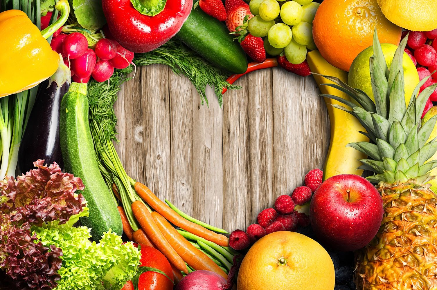 heart healthy delicious natural fresh fruit, vegetables food protect gut health, heal  body,  energy