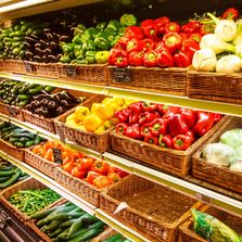 Picture of fresh fruits and vegetables