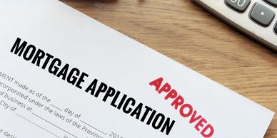 Mortgage application approval