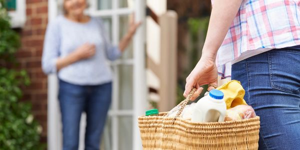 A Helping Hand Home Care helps with homemaking like cooking, cleaning, laundry, dishes, shopping