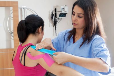 Dwight Chiropractor : Taping Care