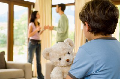 A family in need of our divorce mediation services in Toronto