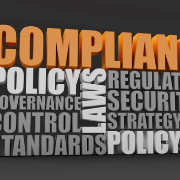 Compliance, Policy, Regulations, Control, Standards