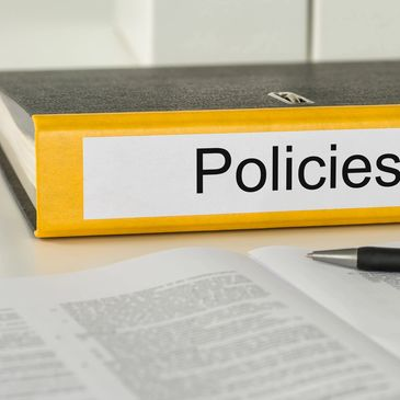 Policies and Procedure folders.