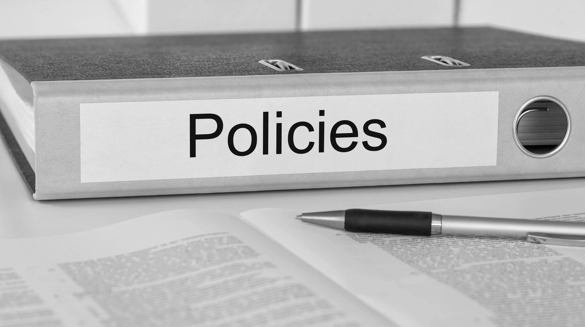 Policies and terms of use