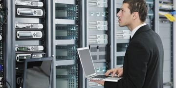 Continental Computer Services handles day to day server system management.