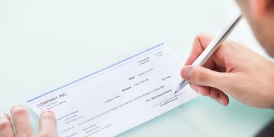 Pay Cedar River Finance by Check for your consumer loans