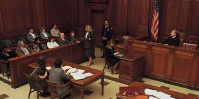 Right to trial by jury, court, criminal law