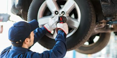 Tire Rotation, Tire Maintenance, SW Houston Auto Repair, Professional Auto Care
