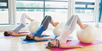 Pilates Mat class in auburn ca, 1 lifestyle fitness gym, group exercise, pilates