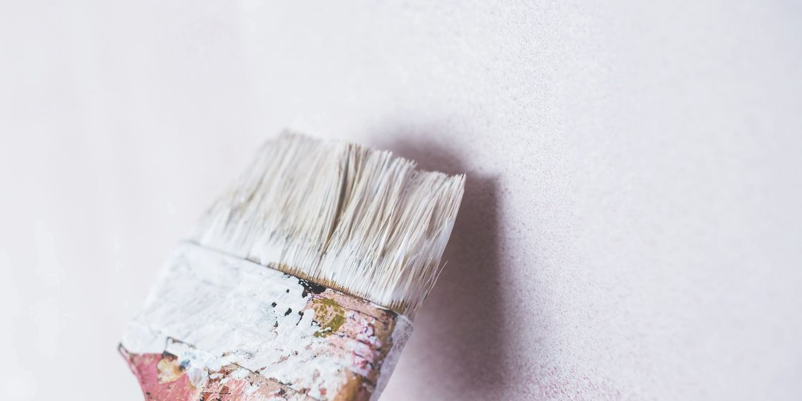 A brush used by our interior painting crew in Pittsburgh, PA