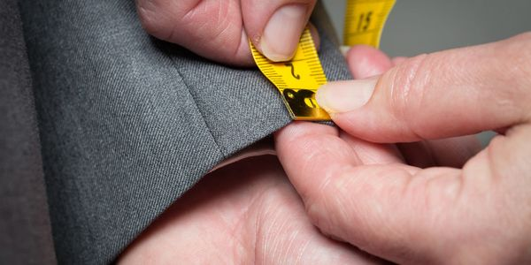 Custom clothing measurements